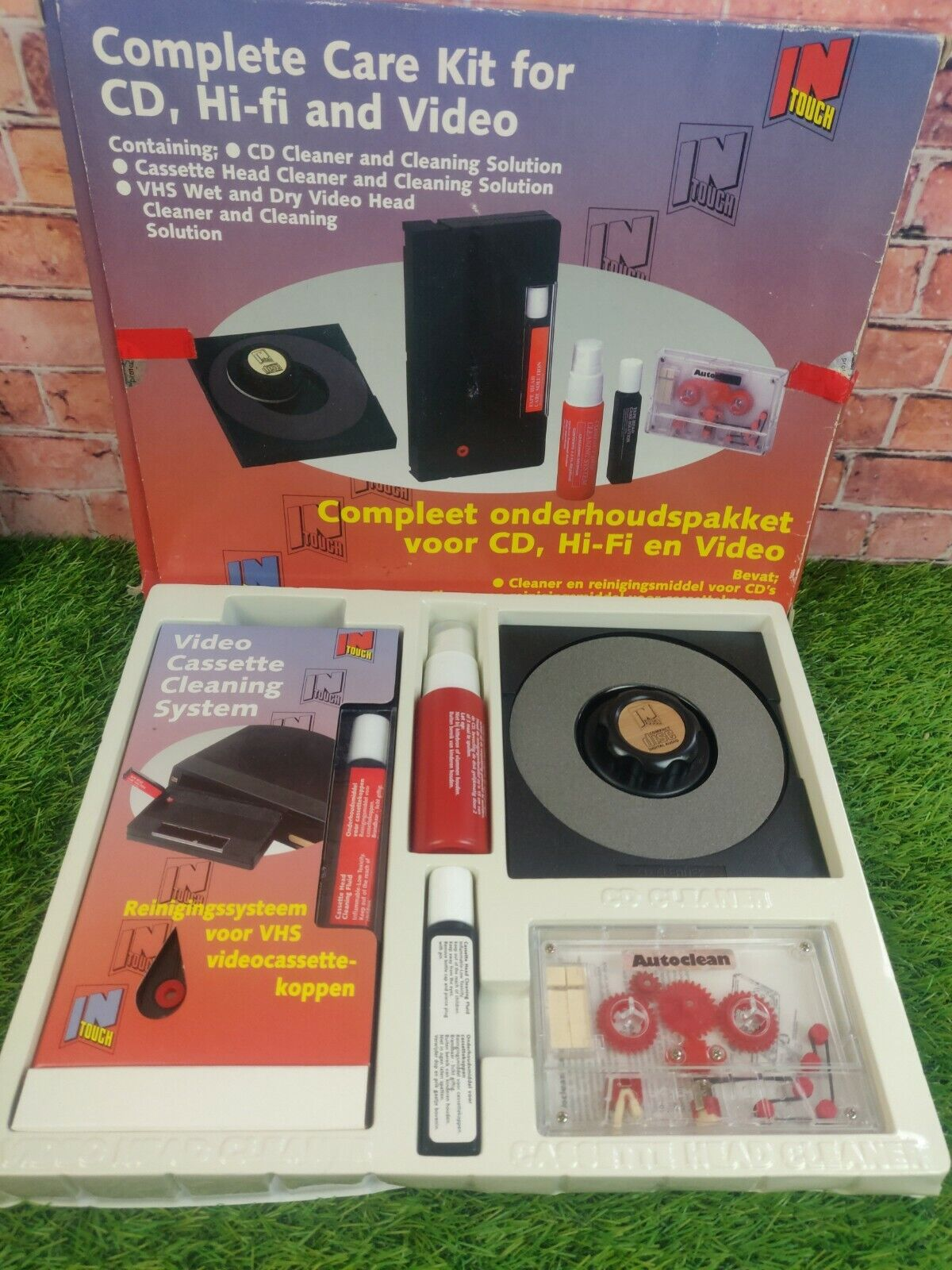 Complete Care Kit For Cd, Hifi And Video