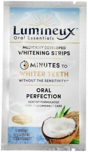 Lumineux Oral Essentials Teeth Whitening Strips 2 Strips 1 Treatments 852412007319 Ebay