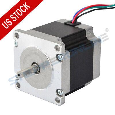 Nema 23 Stepper Motor 1.26Nm 2A 4-wires 8mm Shaft DIY CNC Router Mill BG6