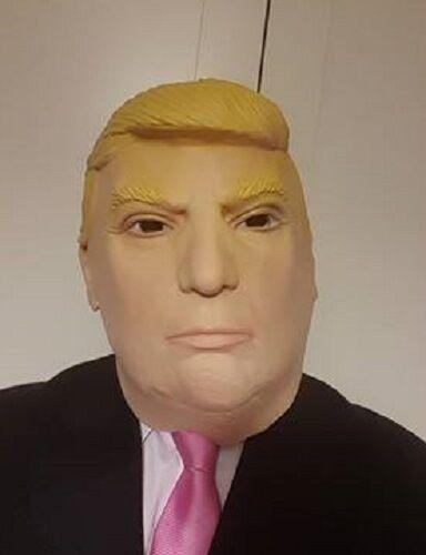 Donald Trump Fancy Dress Mask Full Head Latex Mask US President New