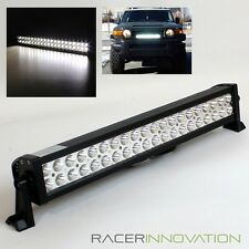 "120W 21.5"" 40 Roof Rack/Grille/Bull Bar/Bumper LED Off Road Spot+Flood Light Bar"