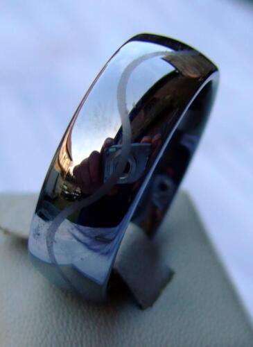 Wolfram//Tungsten Carbide ring 3# 8 mm de ancho-laser cut-Titan Hart
