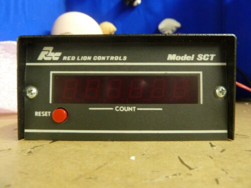 5U Red Lion Controls SCT sct00600 counter