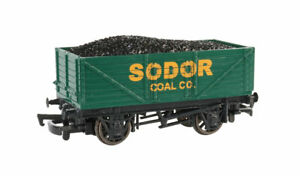 HO-Gauge-Bachmann-Thomas-amp-Friends-Sodor-Coal-Co-Wagon-w-Load