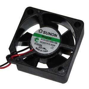 Prudent Ventilateur 5v 0,6w 30x30x10mm 9,3m³/h 23dba; Sunon Mc30100v1-a99-afficher Le Titre D'origine