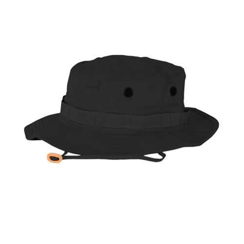 PROPPER US Outdoor Freizeit Boonie cap Mütze SWAT Police Buschhut Black schwarz