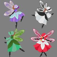 Sunbonnet Fairies - 30 Machine Embroidery Designs (azeb)