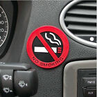No Smoking Warning Logo Stickers Rubber Car Decal Sticker Car Accessories