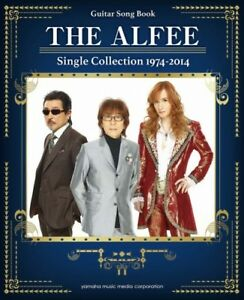 THE ALFEE Single Collection 1974-2014 for Guitar Solo Sheet Music ...