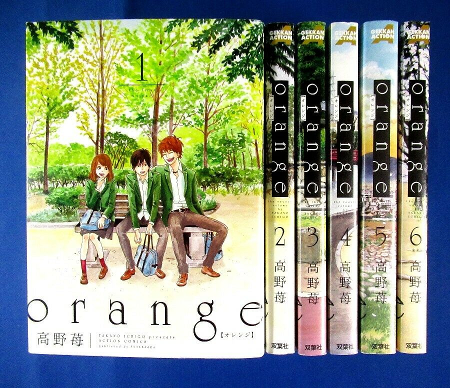 Orange  vol.1  Takano Ichigo Action Comics Manga Comic from Japan