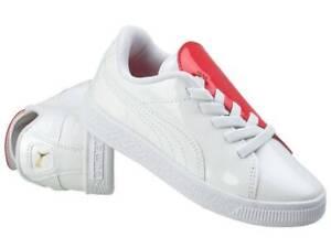 Puma Basket Crush Unisex Kinder Sneaker 369675-01 Gr. 28-35 EU