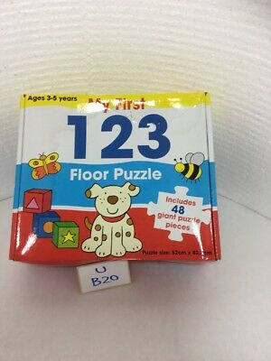 First Giant Floor Puzzle