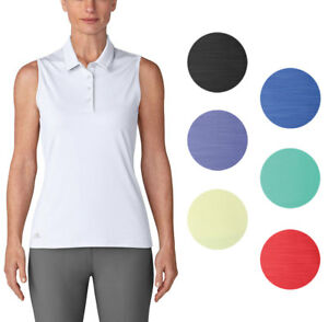 e050bca3 Adidas Ultimate 365 Sleeveless Polo Women's Golf Shirt Ladies 2018 ...