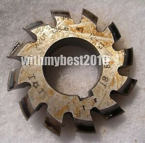 HSS Module 5 20 degree PA #5 Cutting Range 26-34 Teeth M5 Involute Gear Cutter