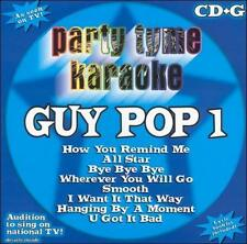 Various Artists : Party Tyme Karaoke: Guy Pop 1 CD (2003)
