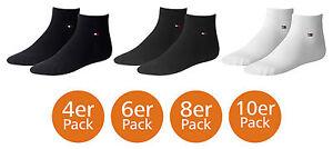 Tommy-Hilfiger-Quarter-Socken-4er-6er-8er-10er-Pack-3942-4346-Vorteilspreis