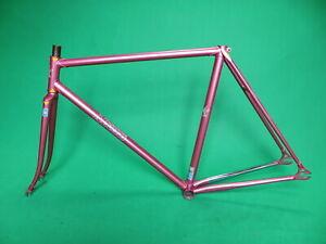 Makino-NJS-Keirin-Frame-Set-Track-Bike-Fixed-Gear-Columbus-Genius-Fixie-52cm