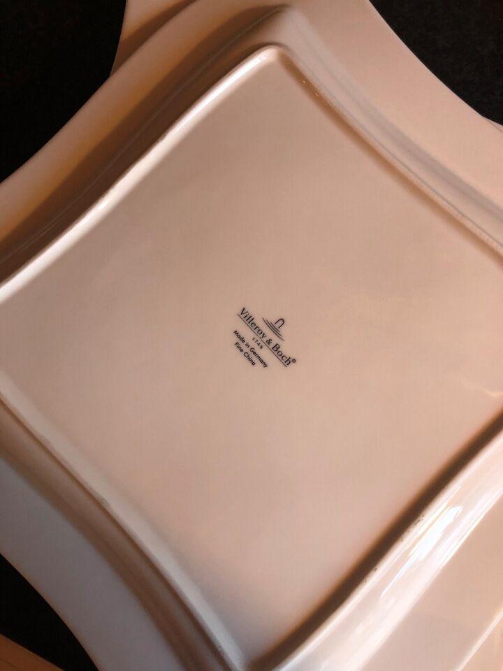 Porcelæn, Serveringsfad tallerken, Villeroy & boch