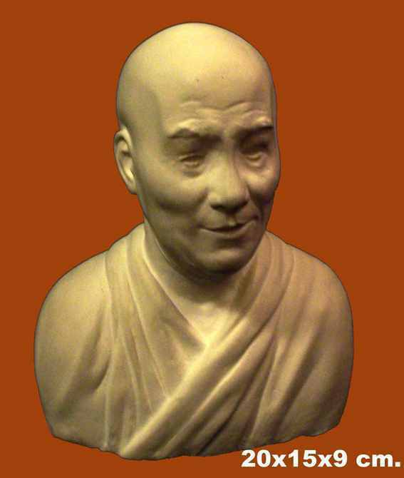 Dalai Lama 100% Australian Sculpture small 3-D Bust 14cm made in Sydney