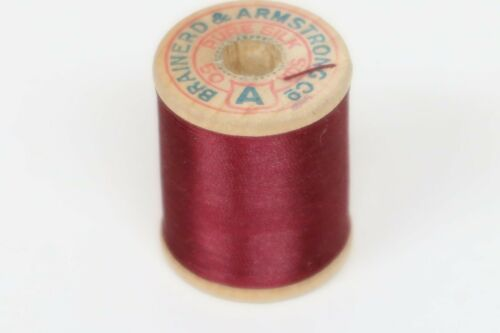 Brainerd /& Armstrong Rod Winding Thread Maroon Size A 50 Yards Fly Tying Crafts