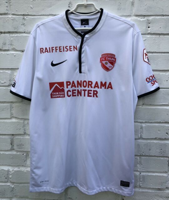 FC THUN 2013\2014 AWAY FOOTBALL JERSEY MAILLOT SOCCER SHIRT SWITZERLAND TRIKOT