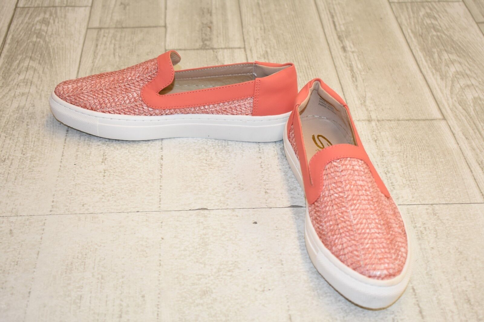 Sbicca Rafa Slip On shoes - Women's Size 7, Coral