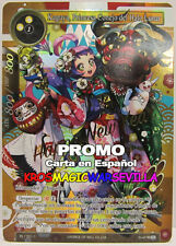FOW Force of Will -Kaguya, Rabbit Princess of the Lunar Halo RL 1701-1 PROMO ESP