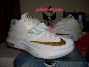 on sale 32112 3e923 Image is loading NIKE-AIR-KD-VII-7-PRM-AUNT-PEARL-