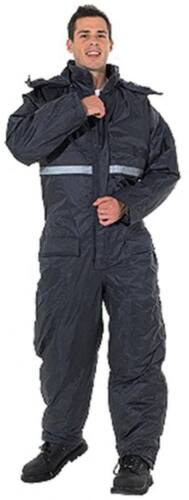 Endurance waterproof padded coverall, onepiece quilted lined thermal suit,