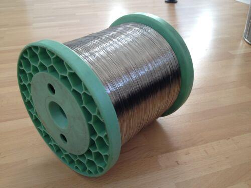 Qualitätsware Federstahldraht 10 Meter x 0,5 mm Rostfrei /& Säurebeständig V2A