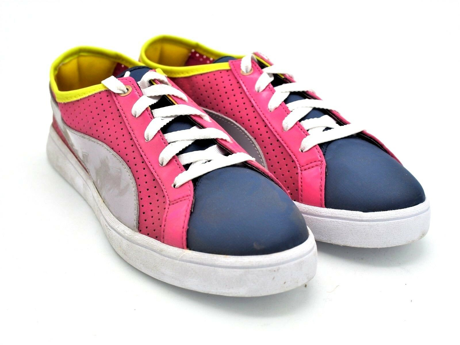 D1864 New Women's Puma Kai Lo - Perf Cabaret Low Top Sneakers Size 7.5 M