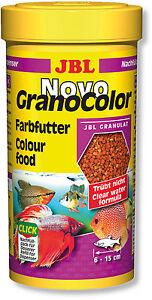 JBL-NovoGranoColor-Novo-Grano-Color-Fish-Food-250ml-Enhancer-Granules