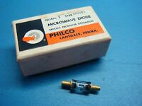 (1) Philco 1n3093 91v 5% 1w 2-pin Do-13 Zener Diode
