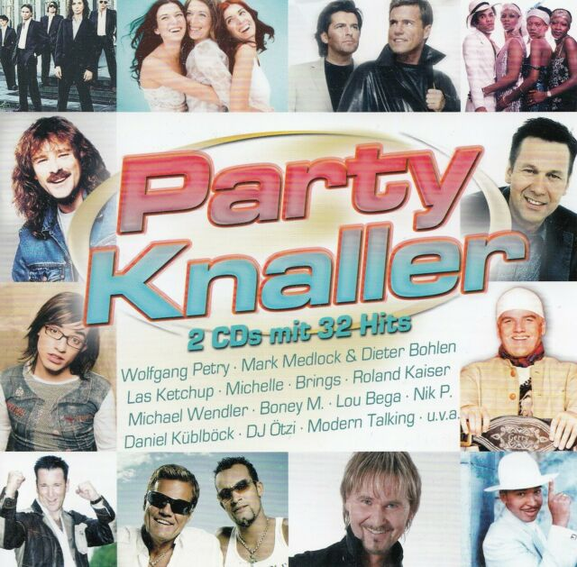 PARTY KNALLER - MIT 32 HITS / 2 CD-SET - TOP-ZUSTAND