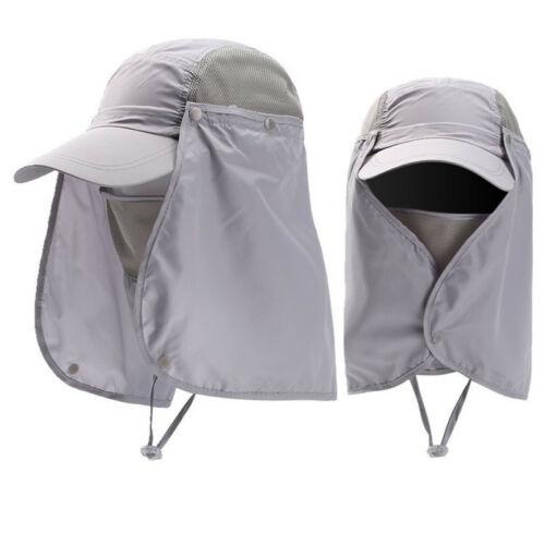 Womens Mens Legion Legionnaire Hat Summer Sun Hat Neck Flap Cap Fishing Camping