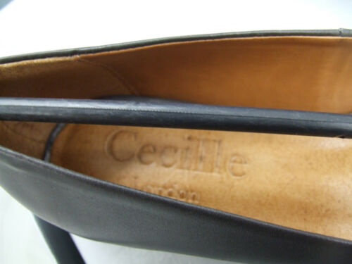 Cecille BNIB UK 3.5 Divine Grey Leather Low Heel Moccasins Loafers Shoes EU 36
