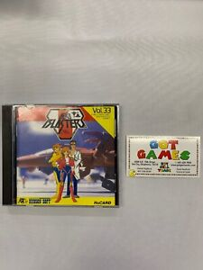 PC-Engine-Aero-Blasters-Import-US-SELLER-Complete-Free-Shipping