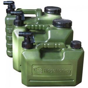 RidgeMonkey-Heavy-Duty-5L-10L-amp-15L-Water-Carriers-Carp-Fishing-Ridge-Monkey