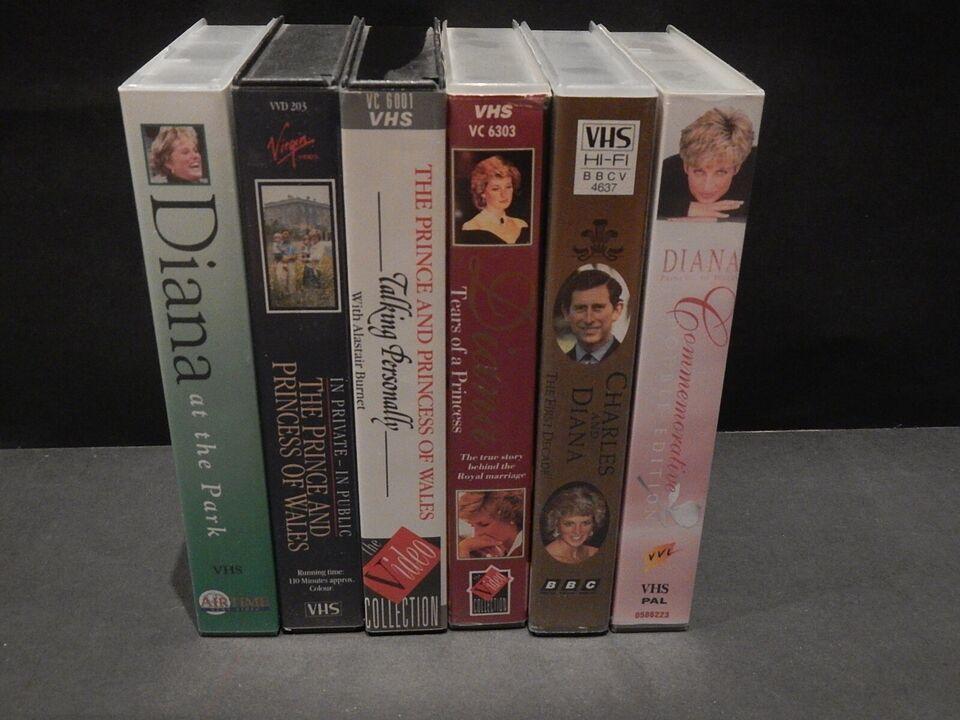 Romantik, Lady Diana 50+ stk.