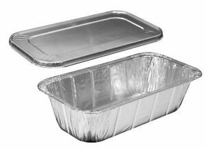 Hfa 1 3 Third Size Deep Aluminum Foil Steam 5 Lb Loaf