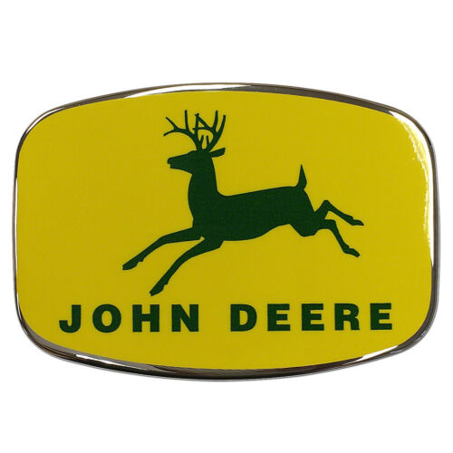FRONT MEDALLION  320 420 520 With clips       JOHN DEERE    JD   3116