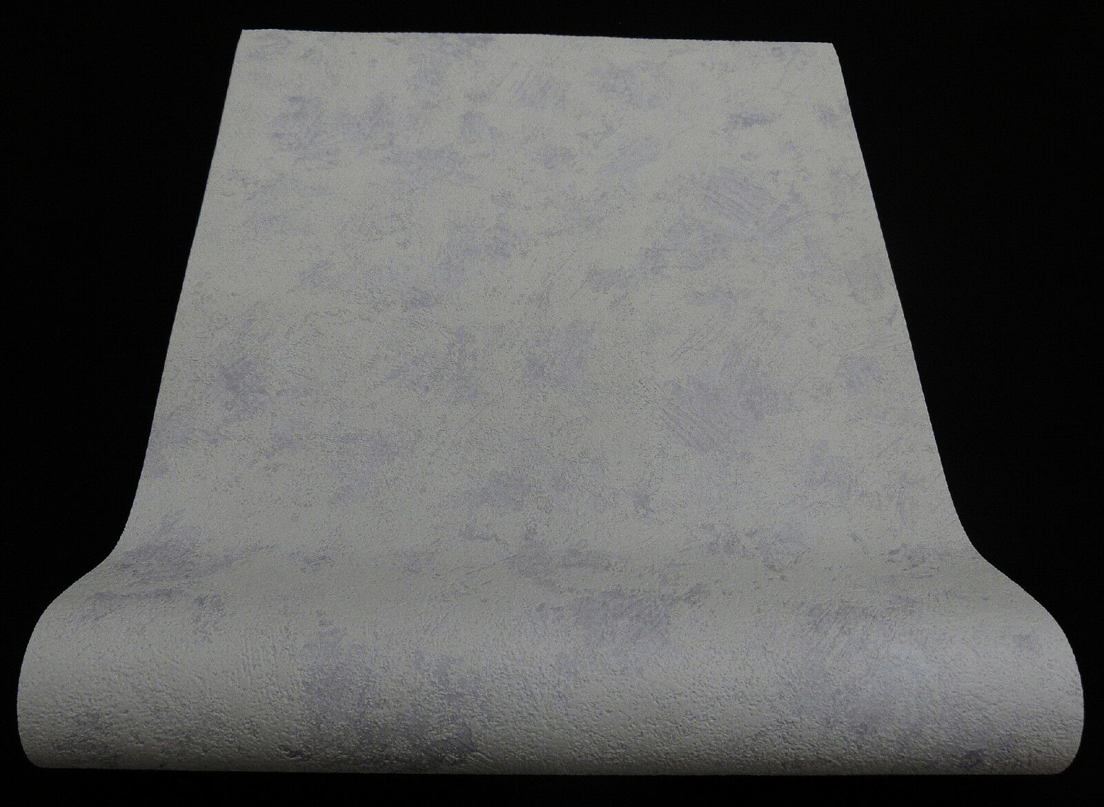 6603-31-) 12 Rollen Vliestapeten grau flieder mediterrane Putzstruktur Weg damit