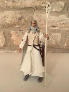 Senor-De-Los-Anillos-Gandalf-El-Blanco-Figura-De-Accion-Toybiz-franqueo-Combine