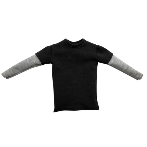12/'/' Male Action Figure Clothes 1//6 Scale T-shirt Double Sleeve Shirt Outfit