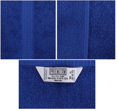 BETZ 10tlg Serviette Set Premium Duschtuch Serviettes gästetuch laver Gants
