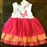 Girls Dress Size 18 Months Butterfly 2 Piece Rumba Dragonfly