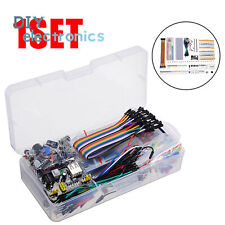 Electronic Component Kit Wires Breadboard Led Resistor Transistor Us