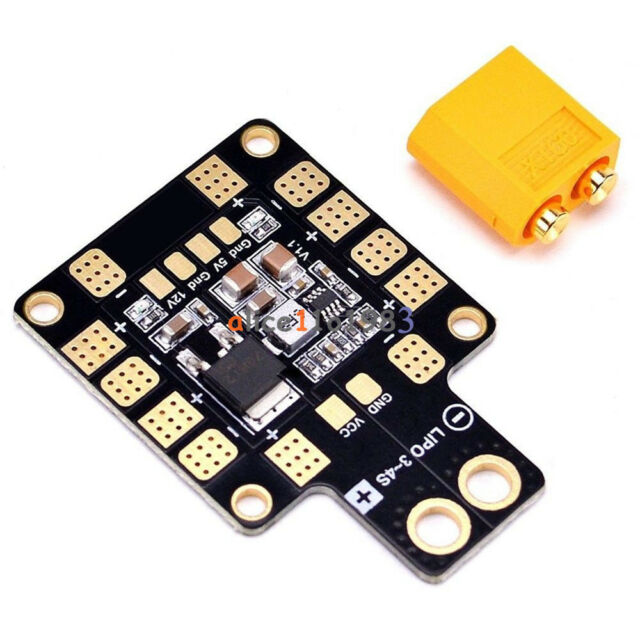PDB-XT60 Power Hub Distribution Board BEC 5V 12V for Racing 250 210 Drone