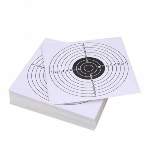 100Pcs//Set Shot Toys For Air Shot Paper Targets Catcher Target Gun Funny New HS1