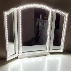 Details About 240 Led Hollywood Mirror Lights Vanity Makeup Bathroom Dressing Table Light